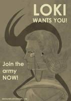 Loki wants YOU by Mistiqarts