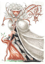 Queen of frost by Mistiqarts