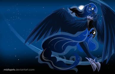 Princess Luna Walpaper by Mistiqarts