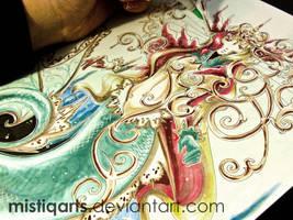Queen of the Ocean by Mistiqarts