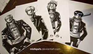 James Dean meets SNK by Mistiqarts