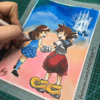 Kingdom Valentines  by Mistiqarts