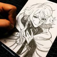 Sekai Surudo Sketch by Mistiqarts