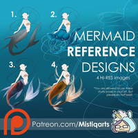Mermaid REFERENCE PACK  by Mistiqarts