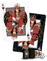 King of hearts Card Design by Mistiqarts