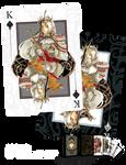 King of Spades Card Design by Mistiqarts