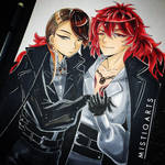 Rutile and Padparadscha VIDEO by Mistiqarts