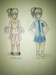 Cheer Girl by thezenithone