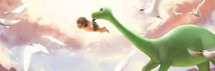 Good Dino - I Can Fly! by KayouVirus
