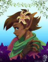 Daughter of the Lilies - Thistle by yamilink
