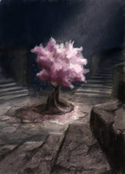 Ancient Cherry by VidPen