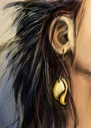 Ear Ring by VidPen