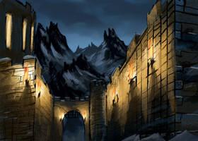 SDJ: Winter at the Castle by VidPen