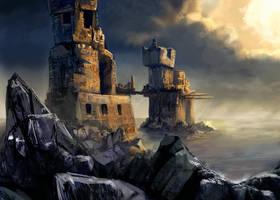SDJ: Ruins in the Sea by VidPen