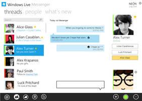 Windows Live Messenger Metro by arcticpaco