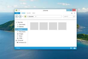 Windows Metro Explorer by arcticpaco
