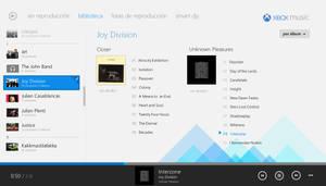 Xbox Music (Windows Store App) by arcticpaco