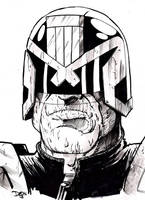 Judge Dredd by ComicStumps