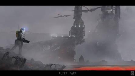 alien farm by manuhell