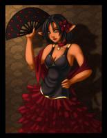 Flamenco Petisu by priestessofpie