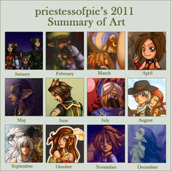 2011 Summary of Art by priestessofpie