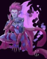 Evelynn League of legends by FurutaArt