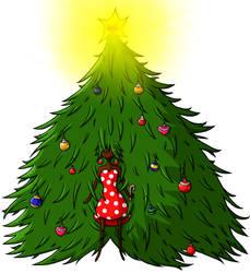 Hairy Christmas, everyone! by LunaticHippo