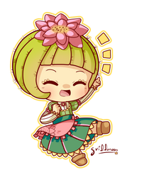 4.- Cactus-chan by Frappuchii