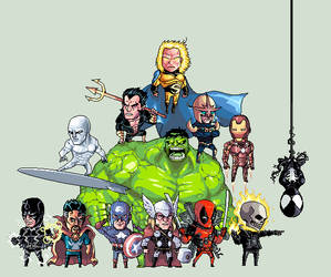 Avengers Initiative by ShwigityShwonShwei