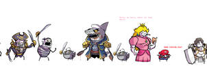 Even more characters. by ShwigityShwonShwei