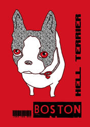 Iggy hell terrier by saintelle