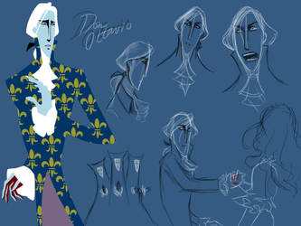 Don Ottavio Character Designs by squonkhunter