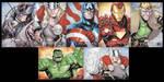 Thor AP Cards by lazeedog