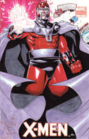 magneto xmen cover by lazeedog