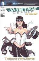 Zatanna new 52 by lazeedog