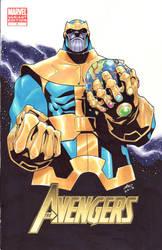 Thanos by lazeedog