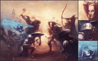 Arcane Struggle by Dolmheon