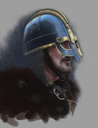 Practice - Viking warrior by Dolmheon