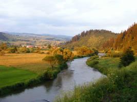 Landscape from romania by drflokk