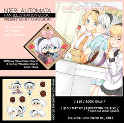 PREORDER - DAY OF [A]FFECTION Mini Zine by kiyasuriin