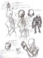 Explorer Suit Studies 01 by Vladimiravich
