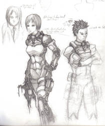 Explorer Suit Studies 02 by Vladimiravich