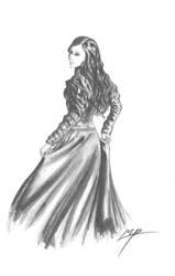 Victorian Era Lady by Vladimiravich