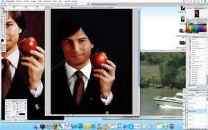 Steve Jobs poco a poco no.2 by DagoDesign