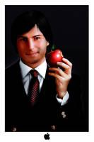 Steve Jobs portrail by DagoDesign