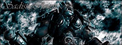 Blue Orc by SadisticClown