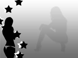 Black silhouette by macmasterkay