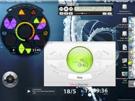 my desktop screenshot by macmasterkay