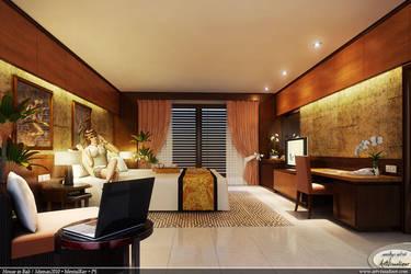 Atikah bedroom 3 by teknikarsitek