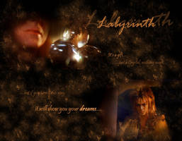 Labyrinth Wallpaper by tsareia